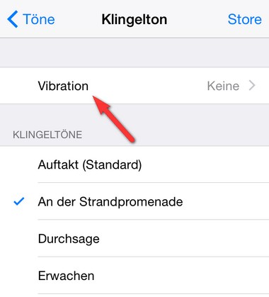 iOS Vibration erstellen