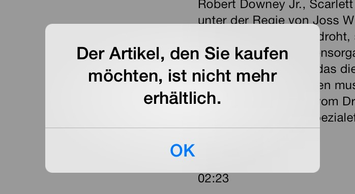 iTunes Filme und Serien lassen sich nicht erneut herunterladen! [gelöst]