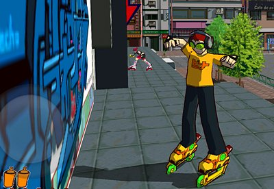 Review: Jet Set Radio – Sprayer auf Rollen geh'n in die Vollen
