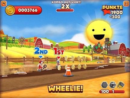 Joe Danger iOS Review