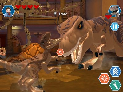 LEGO Jurassic World iOS