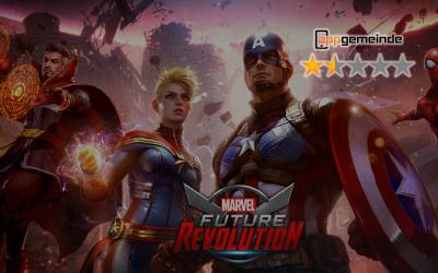 Marvel Future Revolution im appchecker: Stumpfes Autoplay mit dreistem Shop