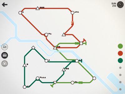 Mini Metro iOS
