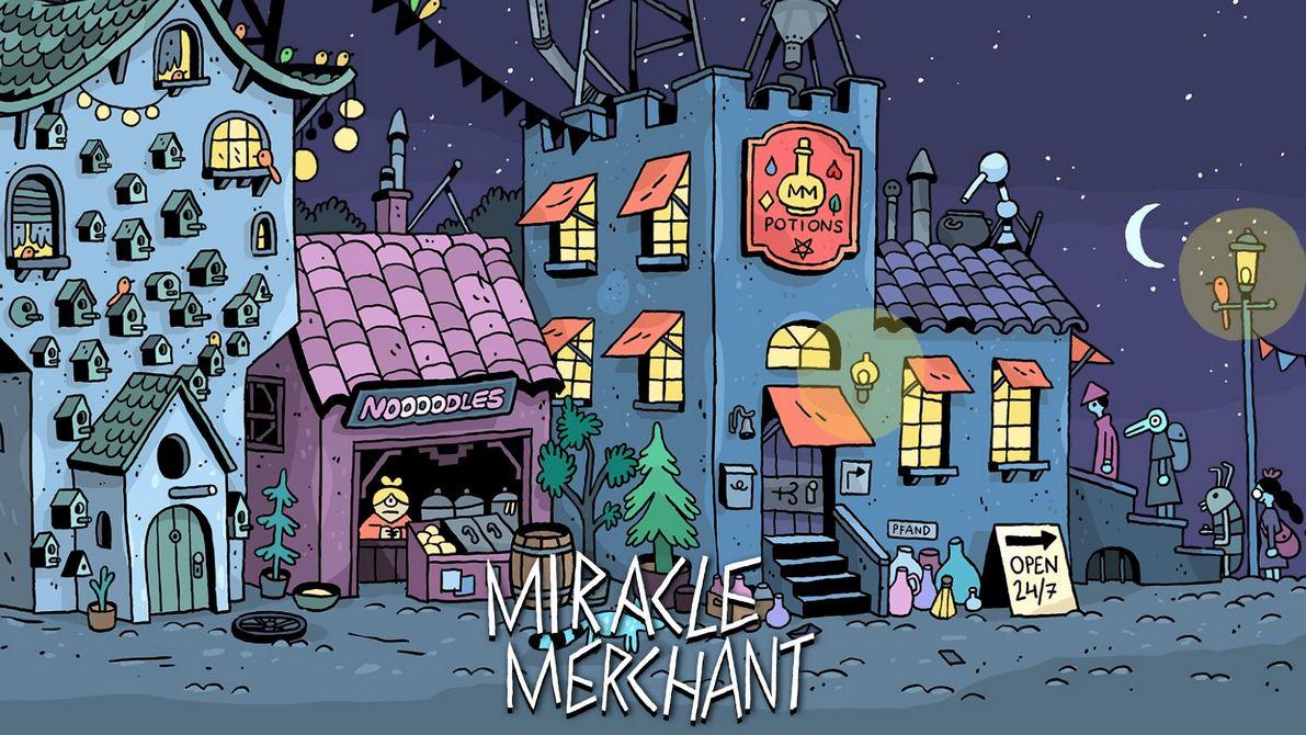 Neue Spiele: Miracle Merchant – Geheimakte 2: Puritas Cordis – Fighting Fantasy Legends – Monoposto und mehr!