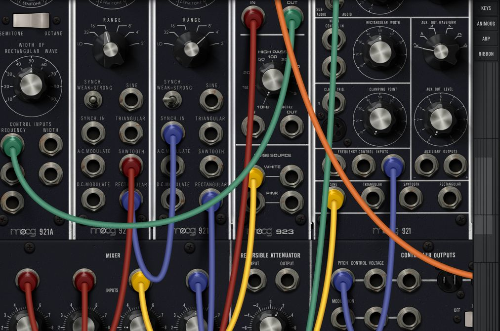 Review: Model 15 – Legendärer Moog-Synthesizer für unterwegs