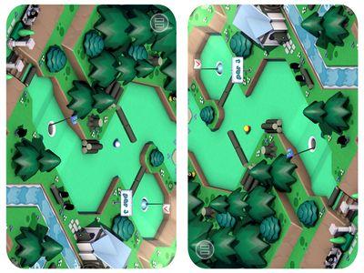mosaic mini golf