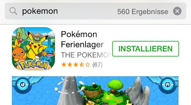 Nintendo iOS AppStore