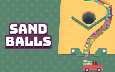 Sand Balls: Litfaßsäule als Geschicklichkeitsspiel