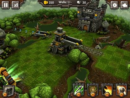 Siegecraft TD – Auf die Türme, die Echsen kommen!