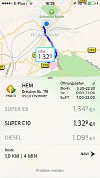 Spritradar iOS App