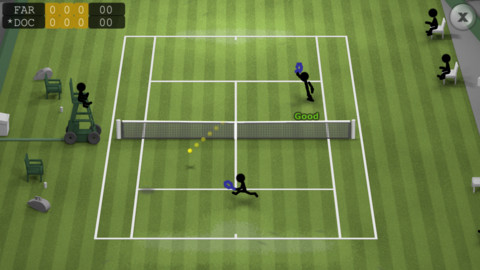 stickman tennis review