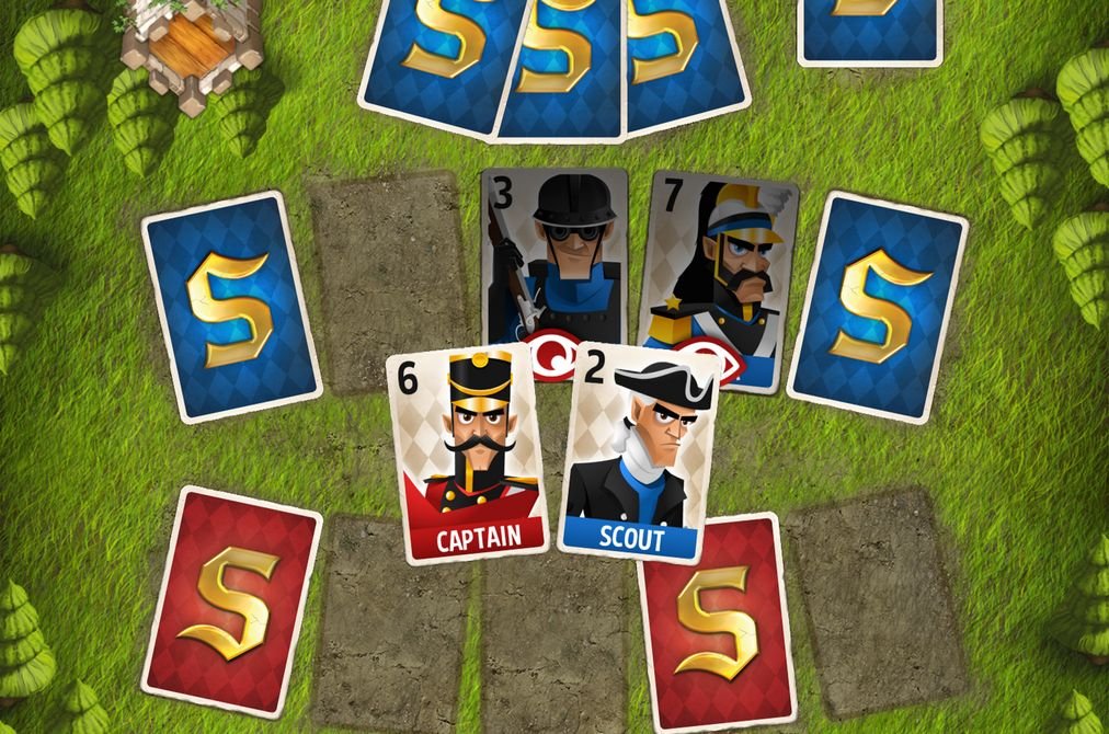 Review: Stratego Battle Cards – Eine Karte des Krieges