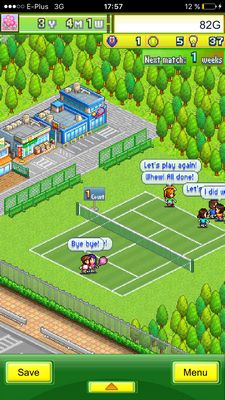 Tennis Club Story iOS