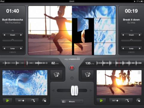 vjay verwandelt dein iPad in eine Video MashUp-Maschine