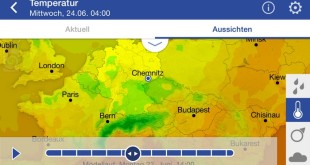 WarnWetter App DWD Test