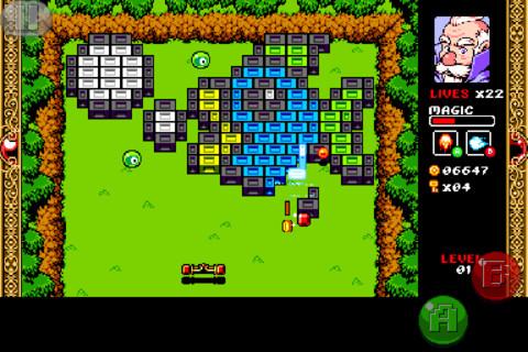 Review: WIZORB – Ein Retro-Brickbreaker mit Rollenspiel-Elementen