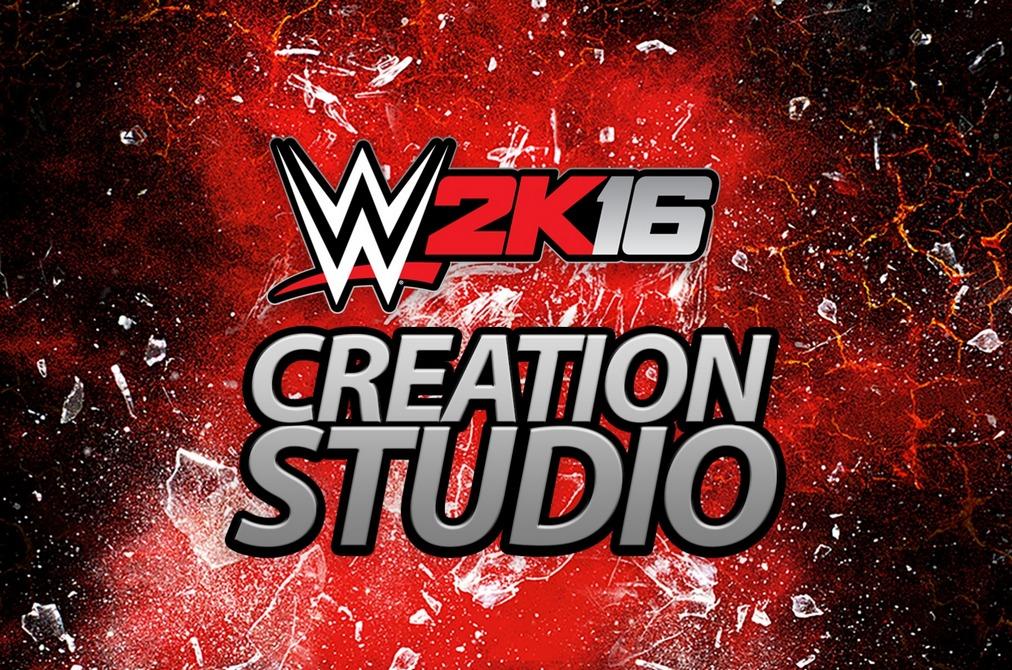 WWE 2k16 Creation Studio