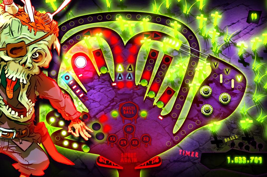 Review: Zombie Pinball – Millionen Punkte für Party auf dem Friedhof